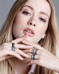 Armenta - Metallic New World Cravelli Stackable Diamond Ring - Lyst