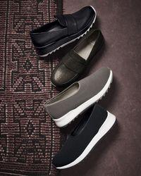Eileen Fisher | Black Hug Mesh Trainer Sneaker | Lyst