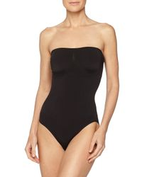 Wacoal - Black B-smooth Strapless Bodysuit - Lyst