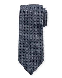 Eton of Sweden | Blue Woven Dotted Fancy Box Silk Tie for Men | Lyst