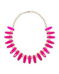 Kendra Scott - Pink Gabriella Statement Necklace for Men - Lyst