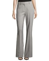 Theory | Gray Jotsna Continuous Stretch-wool Pants | Lyst