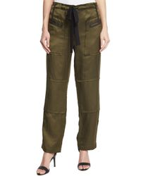 Elizabeth and James - Green Bode Drawstring Cargo Pants - Lyst