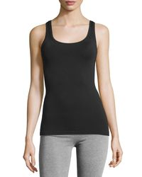 Hanro | Black Touch Feeling Tank | Lyst