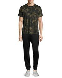 Rag & Bone | Green Camo-print Ringer T-shirt for Men | Lyst