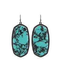 Kendra Scott - Blue Danielle Statement Drop Earrings - Lyst