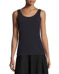 NIC+ZOE | Blue Perfect Jersey Scoop-neck Tank | Lyst