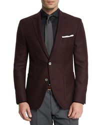 BOSS - Multicolor Janson Textured Two-button Sport Coat for Men - Lyst