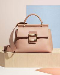Roger Vivier - Pink Viv Cabas Medium Top-handle Satchel Bag - Lyst