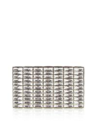 Judith Leiber Couture | Metallic Duchesse Faceted Box Clutch Bag | Lyst