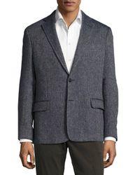 Billy Reid | Blue Larson Linen-blend Jacket for Men | Lyst