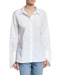 Robert Rodriguez | White Fold-over Cuff Shirt | Lyst
