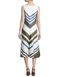 Loro Piana | Multicolor Mallorie Marvelous Twill Dress | Lyst