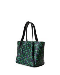 Akris | Green Alex Medium Geometric-print Tote Bag | Lyst