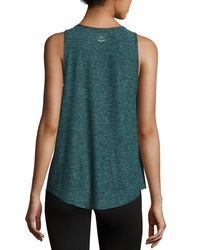 Beyond Yoga | Black Crisscross-side Jersey Muscle Tank Top | Lyst