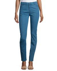 Lafayette 148 New York - Blue Thompson Slim-leg Jeans - Lyst