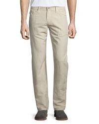 AG Jeans | Multicolor Graduate Sulfur Linen/cotton Jeans for Men | Lyst