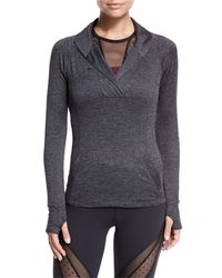 Beyond Yoga - Black Featherweight For It Pullover - Lyst