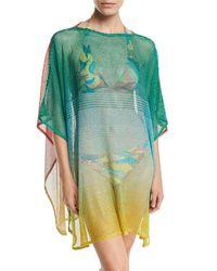 Missoni - Multicolor Ombré Open-knit Coverup - Lyst