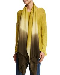 Eileen Fisher - Multicolor Wool Silk Ombre Scarf - Lyst