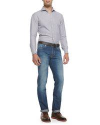 Brunello Cucinelli - Blue Lightweight Medium Wash Jeans for Men - Lyst