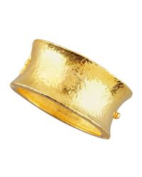 Jose & Maria Barrera | Metallic Gold Cuff Bracelet | Lyst