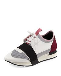Balenciaga Multicolor Classic Colorblock Runner Sneakers