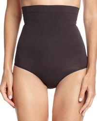 Spanx - Black Higher Power Shaper Panties - Lyst