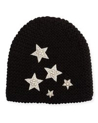 Jennifer Behr | Black Galaxy Beanie Hat | Lyst
