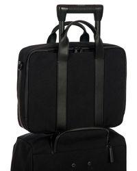 Bric's - Black Moleskine By Briefcase for Men - Lyst