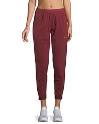 Nike - Red Stadium Dri-fit Running Pants - Lyst