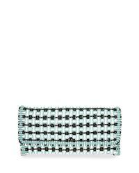 Balenciaga - Multicolor Bistro Cabas Medium Woven Clutch Bag - Lyst