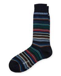 Pantherella - Blue Quakers Multi Stripe for Men - Lyst