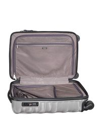 Tumi - Metallic Silver International Carry-on - Lyst