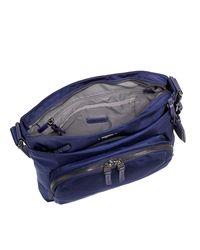 Tumi - Blue Capri Crossbody Bag - Lyst