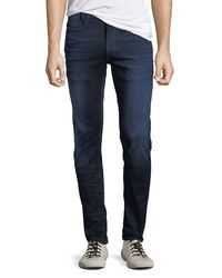 G-Star RAW Blue Men's D-staq Slander Slim Jeans for men