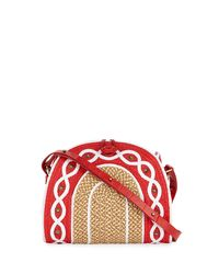 Eric Javits - Multicolor Lil Jiva Woven Straw Shoulder Bag - Lyst
