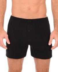 2xist | Black Pima Cotton Knit Boxer for Men | Lyst