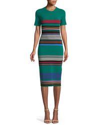 3d9a53ebe5 Diane von Furstenberg. Women s Soft Shoulder Sweater Dress
