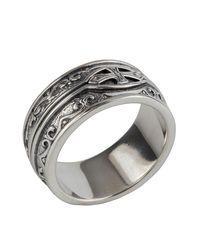 Konstantino - Metallic Men's Sterling Silver Cross Ring for Men - Lyst