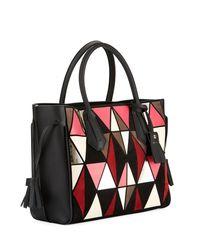 Longchamp - Red Penelope Arty Medium Tote Bag - Lyst