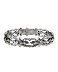 Konstantino - Metallic Men's Sterling Silver Link Bracelet for Men - Lyst