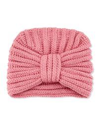 Rosie Sugden - Pink Classic Cashmere Head Turban - Lyst