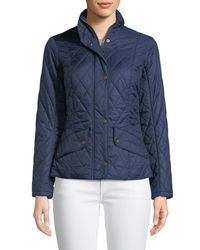 Barbour - Green Flyweight Cavalry Quilted Jacket - Lyst