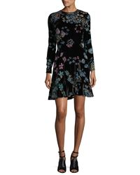 Rebecca Minkoff - Black Steffy Dress - Lyst