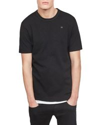 G-Star RAW - Black Conquaestor Jersey T-shirt for Men - Lyst