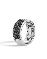 John Hardy - Metallic Men's Classic Chain Sapphire & Spinel Ring for Men - Lyst