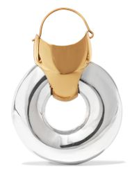 Ellery - Metallic Hush Gold-plated And Silver-tone Earrings - Lyst