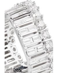 Anita Ko - Metallic Ava Wave 18-karat White Gold Diamond Ring - Lyst