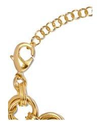 Balmain - Metallic Gold-tone Bracelet - Lyst